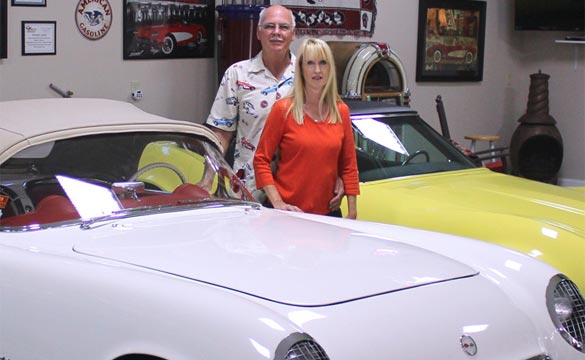 NC Couple Keeps it Classic in Restoration of a 1954 Corvette