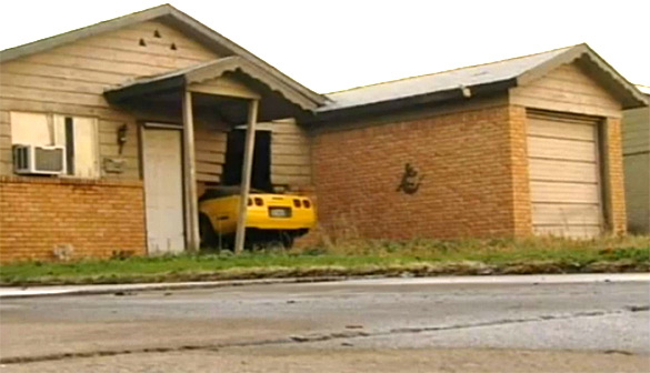 [ACCIDENT] C5 Corvette Crashes into a House in Odessa, Texas