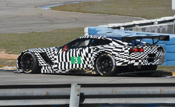 [PICS] Corvette Racing's C7.Rs Running Private Test at Sebring