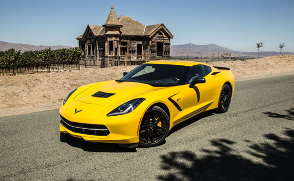 2014 Corvette Stingray Named as Top 3 Finalist for the North American Car of the Year