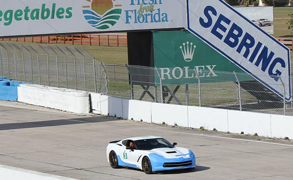 [VIDEO] Driving Instructor Brutally Drives His 2014 Corvette Stingray at Sebring