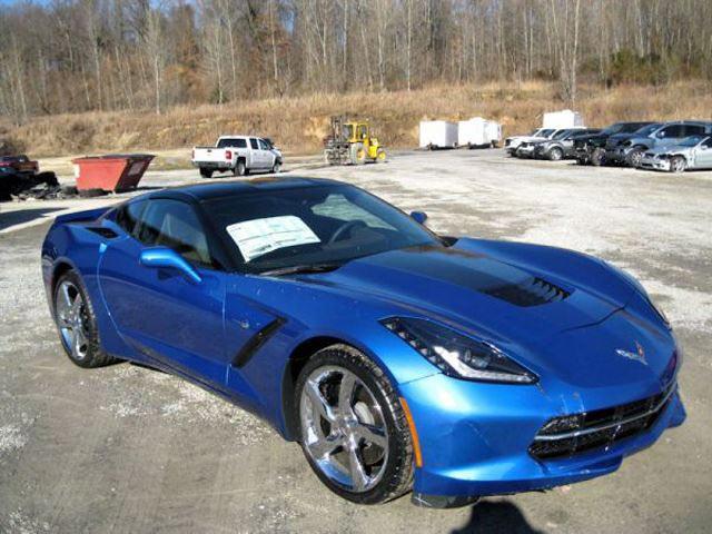 Corvette Stingray Premiere Edition that Crashed Through ...