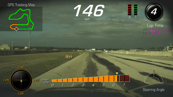 [VIDEO] Chevrolet Introduces the 2015 Corvette's Performance Data Reco