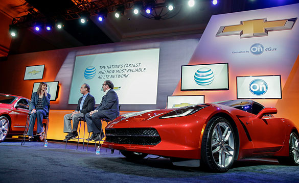 2015 Corvette to Get 4G LTE Connectivity through OnStar