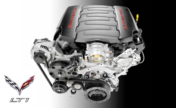 Corvette Stingray's LT1 V8 Engine Makes Wards List of 10 Best Engines