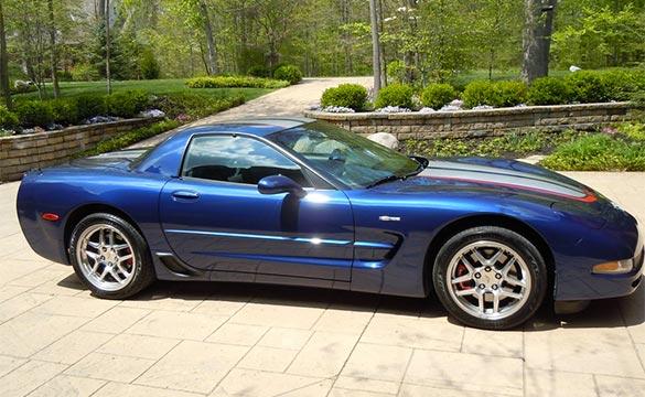 2004 Corvette Z06 border=