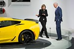 [PICS] Vice President Joe Biden Visits the Corvette Display at NAIAS