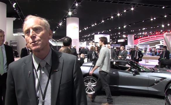 [VIDEO] Corvette Chief Engineer Tadge Juechter Answers Our Questions about the 2015 Corvette Z06