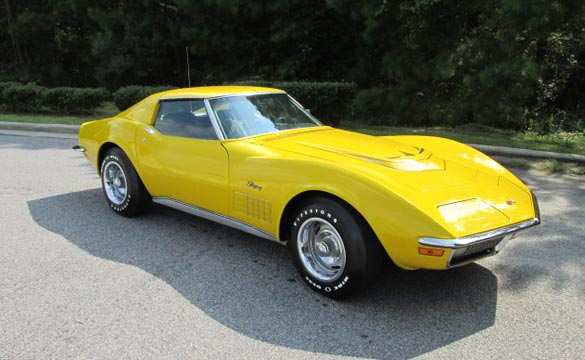 1971 LT1 Corvette Coupe