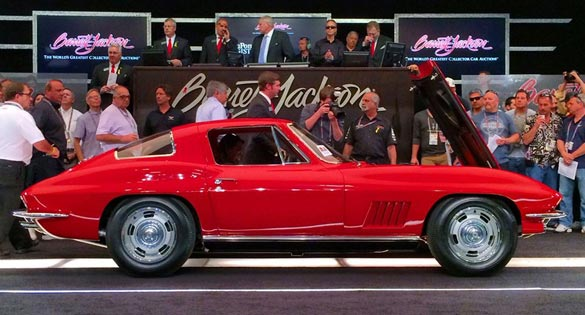 1967 Corvette L88 Sells for World Record $3.5 Million at Barrett-Jackson