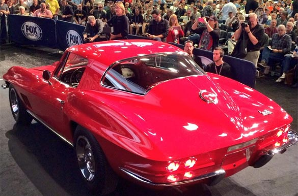 1967 L88 Corvette Coupe Sells for $3.85M with buyers fees