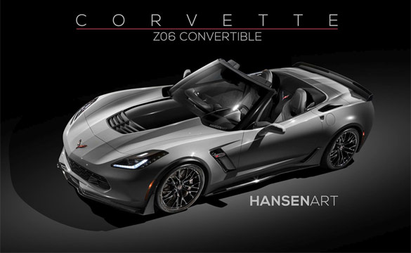 [PIC] Hansen ART Imagines the 2015 Corvette Z06 as a Convertible