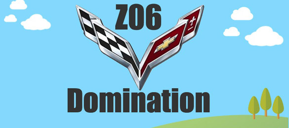 [INFOGRAPHIC] Corvette Z06 Domination