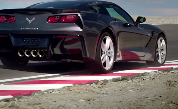 [VIDEO] New 2014 Corvette Stingray Commercial: Machine