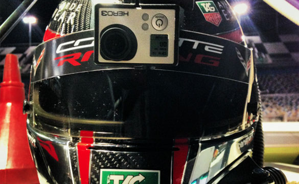[VIDEO] Tommy Milner Helmet Cam from the Daytona 24