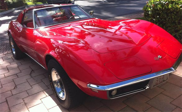 This Florida Rabbi has been Driving the Same 1968 Corvette Since New