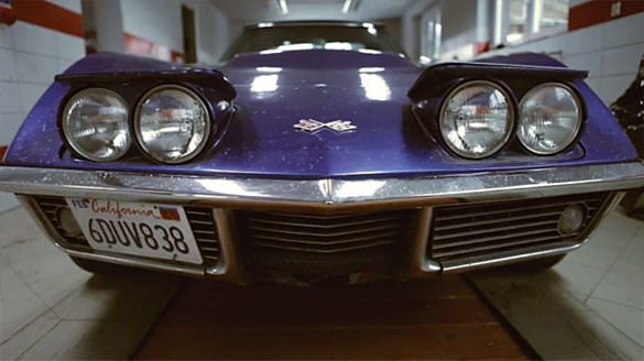 [VIDEO] 1968 Corvette Time-Lapse Tear Down border=