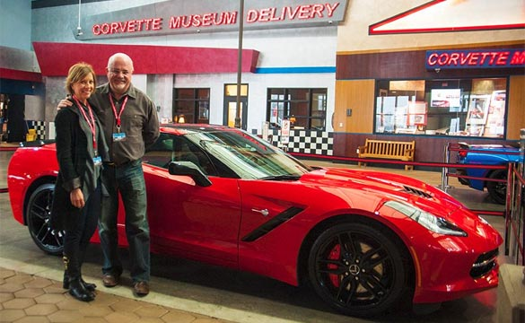 [PIC] Financial Guru Dave Ramsey Picks Up His C7 Corvette Stingray at the Corvette Museum