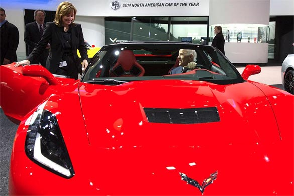 Is this Vice President Joe Biden's New Corvette Stingray?