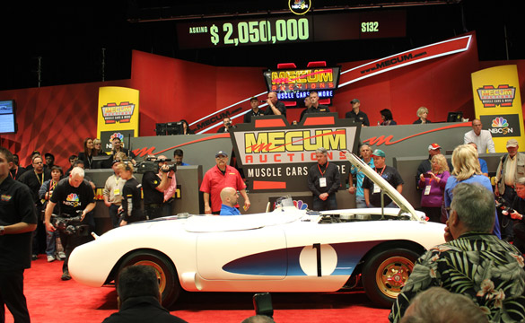 Top Corvettes Go Unsold at Mecum Kissimmee