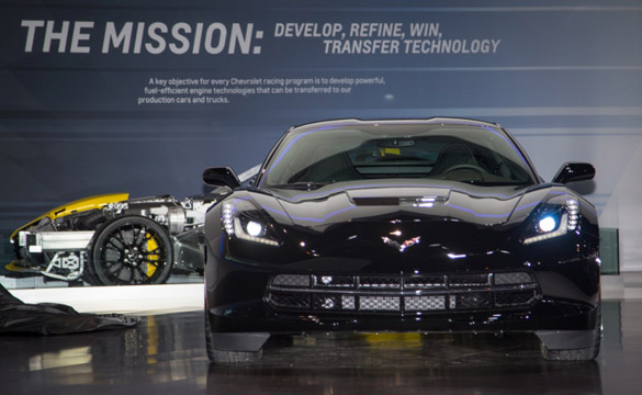 [PICS] Black Widow's Corvette Stingray at the Chicago Auto Show
