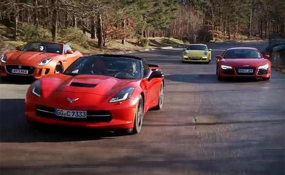 [VIDEO] The Corvette Stingray Takes On Europe's Best Cars