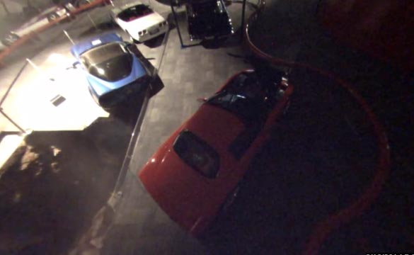 VIDEO Corvette Museums Security Cameras Capture