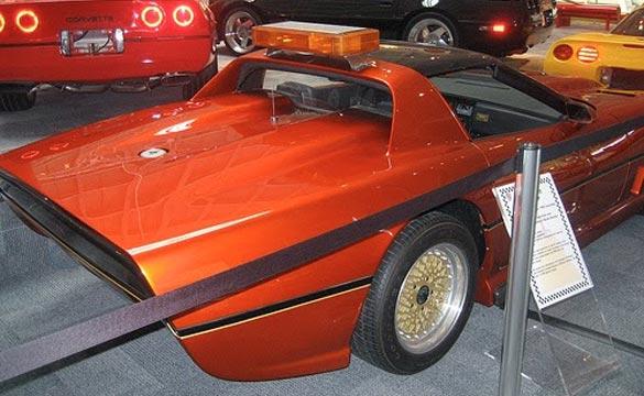 1984 PPG Corvette Pace Car