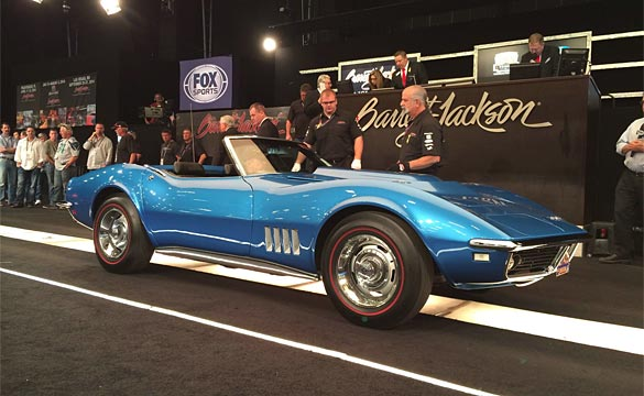 L88 Corvette at Barrett-Jackson