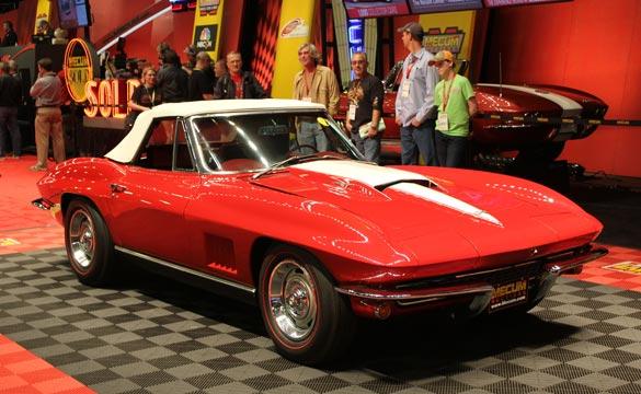 Gus Grissom Corvette at Mecum
