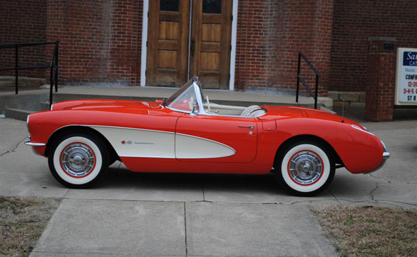 Saint Bernard Classic Corvette Giveaway is Offering a 1957 Corvette