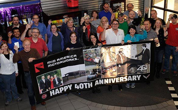 Mid America Motorworks Celebrates its 40th Anniversary