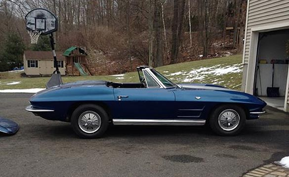 Michigan Man is Reunited with His Dad's 1964 Corvette