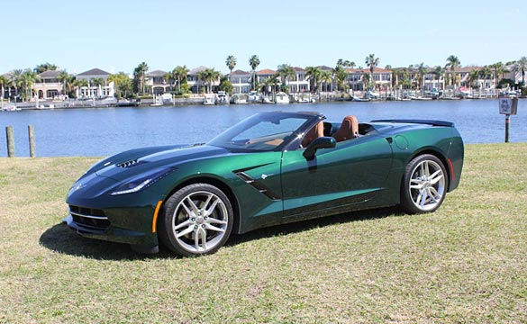 [PICS] 2014 Corvette Stingray Z51 Convertible in the CorvetteBlogger Garage