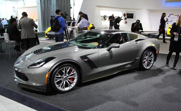 Barrett-Jackson to Sell First Production 2015 Corvette Z06 at Palm Beach Auction