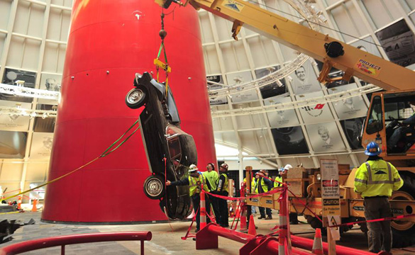 1962 Corvette Roadster Pulled from the Corvette Museum Sinkhole