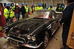 1962 Corvette Roadster Pulled from Corvette Museum Sinkhole