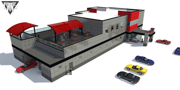Corvette Museum's Motorsports Park Announces New Hire and Shows off Building Renders