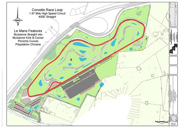 Corvette Museum's Motorsports Park Shows off Building Renders