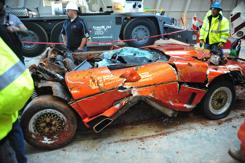 Video Watch The Rescue Of The 1984 Corvette Ppg Pace Car From The