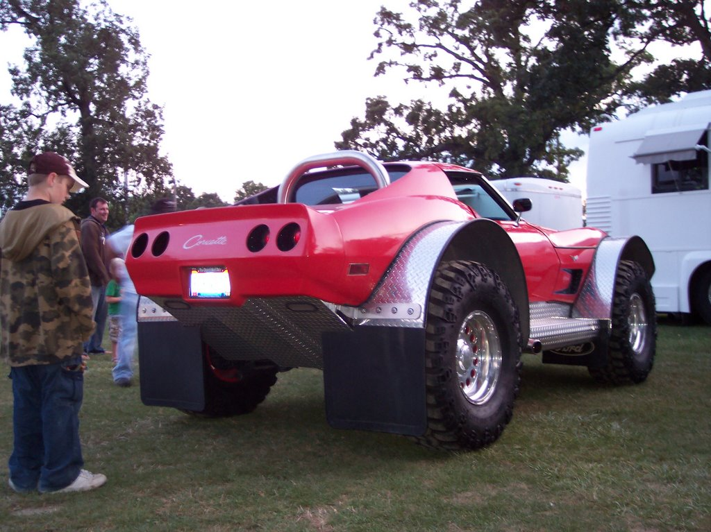 How Much Cost Turning A C3 Corvete Into 4x4 Style