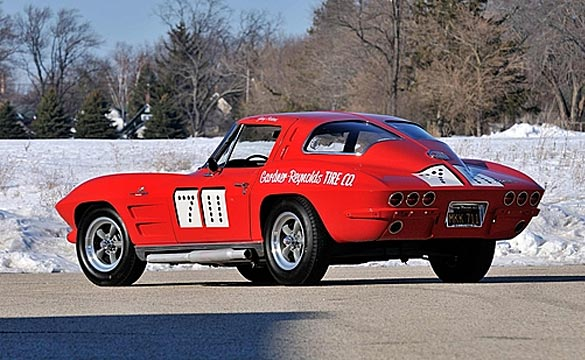 Mecum Offering the 1963 '711' Corvette Racer which appeared in an Elvis Movie at its Houston Auction