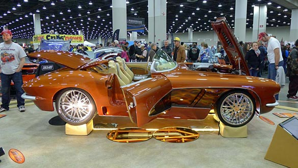 [PICS] Corvettes and More at the 2014 Detroit Aut