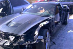 [ACCIDENT] 2014 Corvette Stingray with 562 Miles is a Totaled Mess