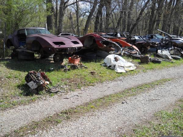 Corvette Salvage Yard for Sale in Ohio - Corvette: Sales ...