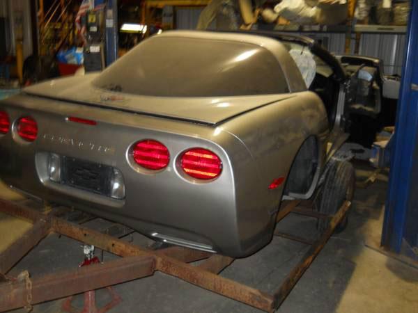 Corvette Salvage Yard for Sale in Ohio - Corvette: Sales, News