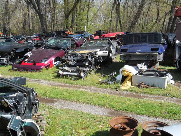 Auto Parts Truck Ohio Junk Yard Salvage