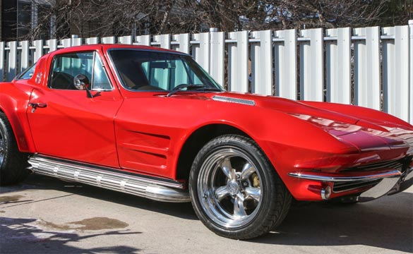 Restored 1964 Corvette Has a Rock N Roll Past