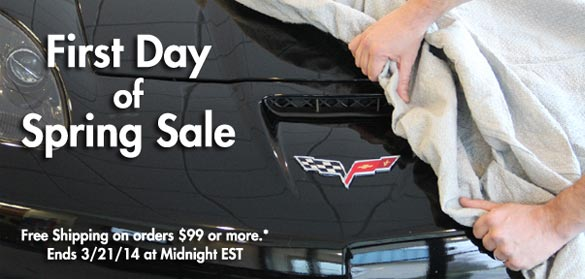 Don't Miss Zip Corvette's First Day of Spring Sale