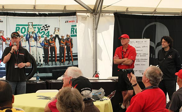 [VIDEO] Corvette Production Team Seminar at the 2014 12 Hours of Sebring